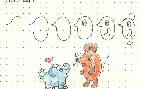 tiere zeichnen leicht gemacht